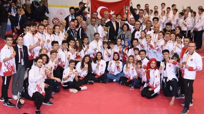 Millilerimiz Avrupa Şampiyonu oldu