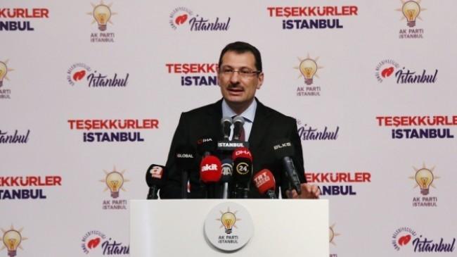 """AK Parti, """"Seçimlerin yenilenmesini istiyoruz"""""""
