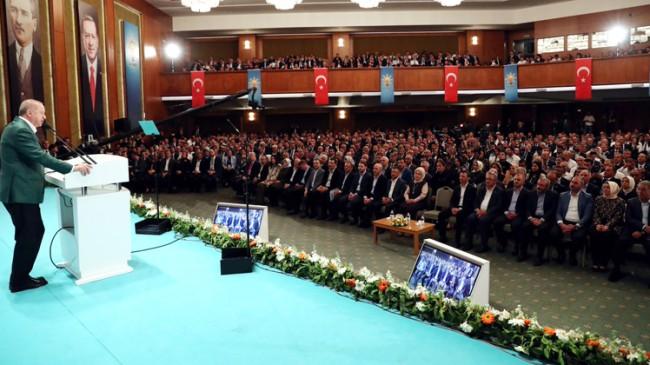 Erdoğan'dan kibirli azarlaması