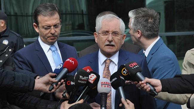 YSK Başkanı Sadi Güven'den açıklama!