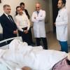 Başkan Türkmen'den Mehmet Kalay'a ziyaret