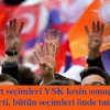 AK Parti tüm seçimlerde önde