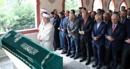 Başkan Erdoğan, Fazlı Kılıç'ın annesinin cenazesine katıldı