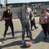 Eminönü Meydanı'nda heykel şaşkınlığı
