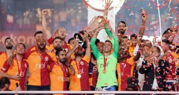 Galatasaray'a 22. şampiyonluk kupası