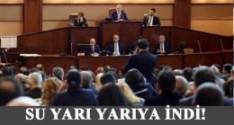 İBB Meclisinde suda rekor indirim!