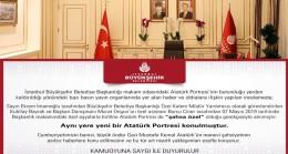 İBB'den Atatürk posteri açıklaması!