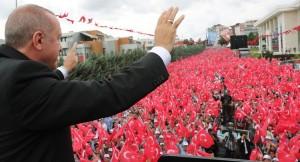 """Başkan Erdoğan, """"Halk düşmanı bu faşist zihniyete İstanbul'u teslim etmeyeceğiz"""""""