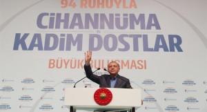 """Başkan Erdoğan, """"23 Haziran'da küfürbazlar sandığa gömülecek"""""""