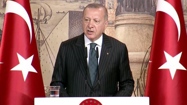 Başkan Erdoğan'dan gazeteci tanımı!