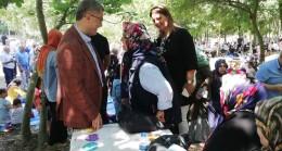 Başkan Türkmen, Üsküdarlılarla Mısırlı Millet Bahçesi'nde buluştu