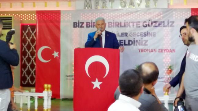"""Binali Yıldırım, """"Ekrem İmamoğlu kendini belediye başkanı zannediyor!"""""""
