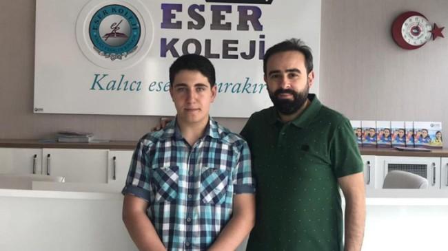 Eser Koleji, LGS Türkiye 1.'si çıkardı