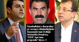 İmamoğlu'nun Selahattin Demirtaş'ı bakın en diyor!