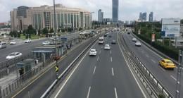 İstanbul'da yollar hep böyle olsa