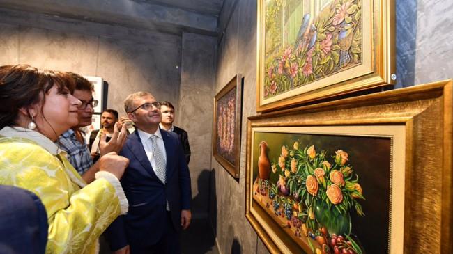 """Türkmen, """"Sanat insanların günlük hayatında hakim olmaya başladı"""""""