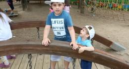Ümraniyeli çocuklar botanik bahçesinde