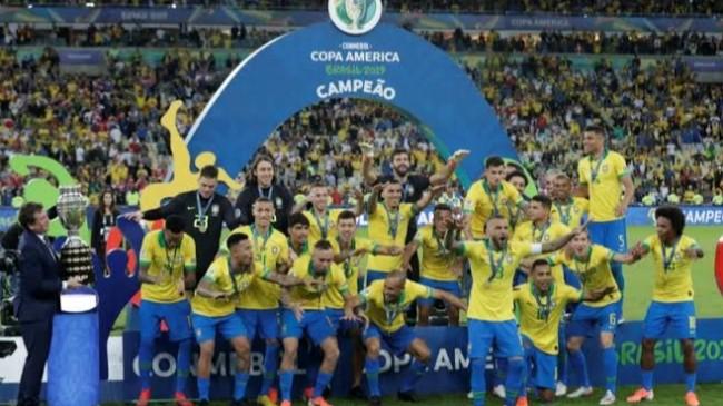 Brezilya, Kupa Amerika Şampiyonu