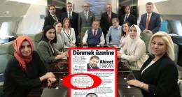 Ahmet Hakan, hani reisin uçağına 'asla ve kata binmeyecektin'!