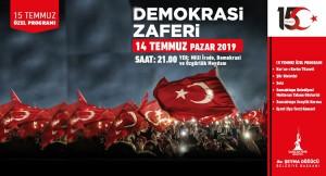 Başkan Döğücü, Sancaktepelileri 'Büyük Türkiye' aşkıyla nöbete bekliyor
