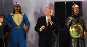 """Başkan Erdoğan, """"Hiçbir darbe yapanların yanına kar kalmadı"""""""