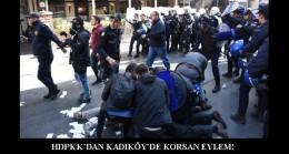 Kadıköy'de Polis'ten HDP'lilere sopa!