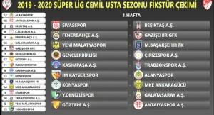 Süper Lig kuraları çekildi