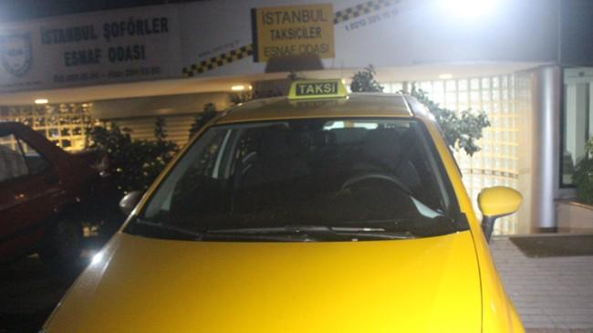 Taksici meslekten ihraç edildi