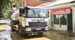 Tuzla Belediyesi'nden Düzce'ye yardım