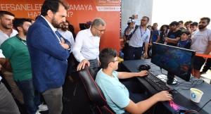 """Başkan Türkmen, """"Üsküdar E-spor Merkezi kuracağız"""""""