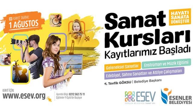 Esenler Belediyesi, Esenler'de kültür ve sanat hayatına yön veriyor