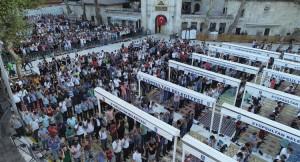 Kurban Bayramı'nda camiler doldu taştı