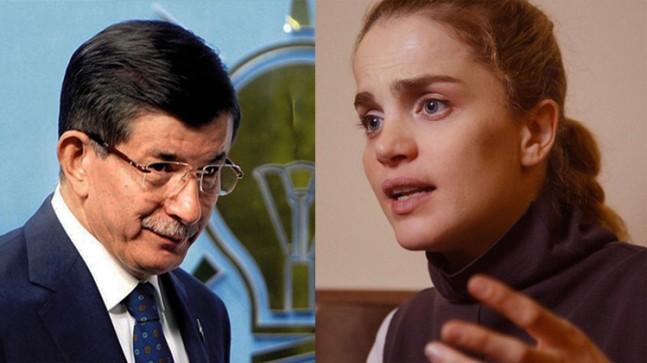 Tuğçe Kazaz, Davutoğlu'nu eleştirdi!