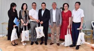 Üsküdar Belediyesi'ne Çin'den misafir
