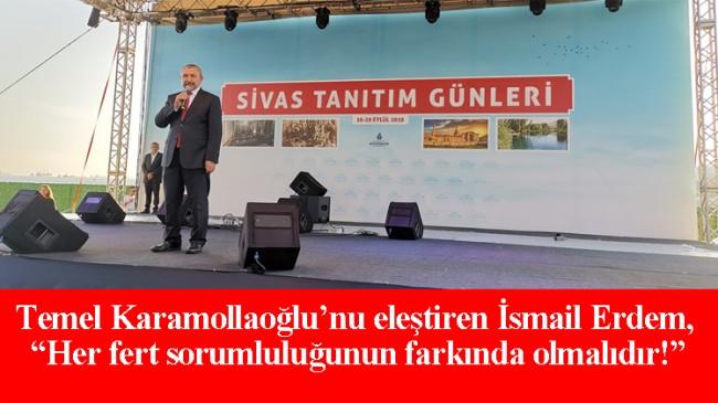 İsmail Erdem, provokatör Temel Karamollaoğlu'nu eleştirdi