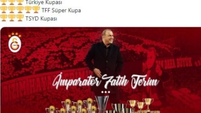 Galatasaray, Terim'in sicilini açıkladı