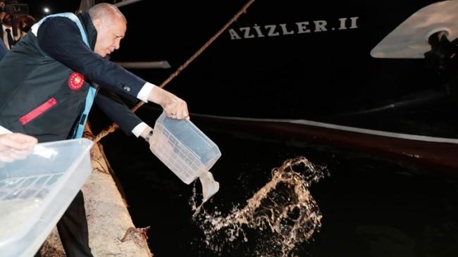 "Başkan Erdoğan, ""Vira Bismillah"" dedi"