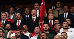 Başkan Erdoğan'dan millilerimize destek