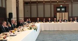 Başkan Erdoğan'ın önemli misafirleri vardı