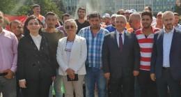 Belma Satır'dan İBB mağdurlarına destek