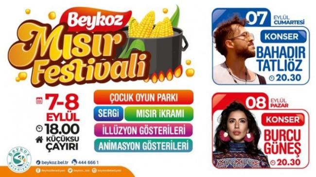 """Beykoz Belediyesi, Tarihi Küçüksu Çayırı'nda """"Mısır Festivali"""" düzenliyor"""