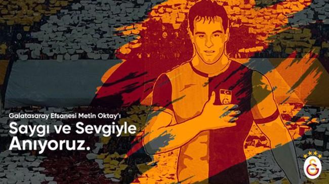 Efsane futbolcu Metin Oktay anıldı
