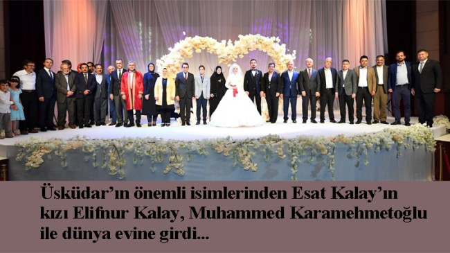 Elifnur Kalay ile Muhammed Karamehmetoğlu, evliliğe ilk adımı attılar