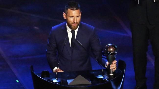 FIFA Yılın Futbolcusu: Lionel Messi