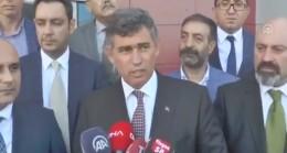 """Metin Feyzioğlu, """"Teröriste ve terör örgütüne laf söylemeyenlerle işimiz yok"""""""
