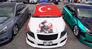 Modifiye tutkunları Çekmeköy'de