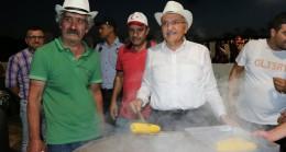 Tarihi Küçüksu Çayırı, Mısır Festivali ile yeniden canlandı