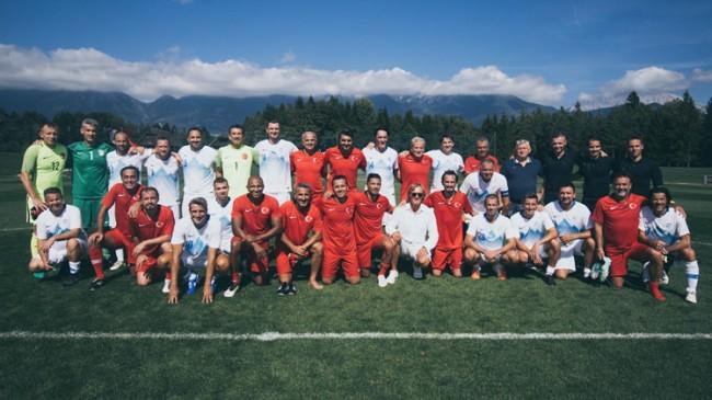 Türkiye ile Slovenya şöhretleri karşılaştı
