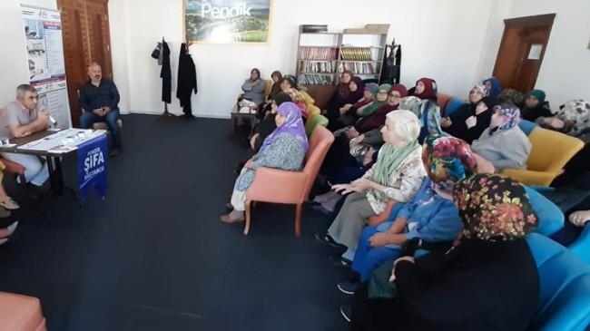 Vefa Kıraathanesi'nde ki yaşlılara sağlıklı yaşam seminerleri