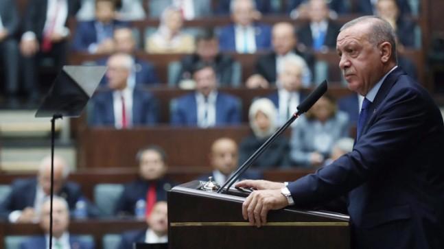 """Başkan Erdoğan, """"Azdan az gider, çoktan çok gider"""""""